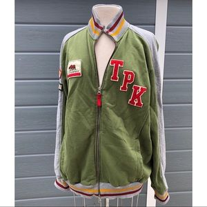 Think Pink Yosemite Varsity jacket vintage